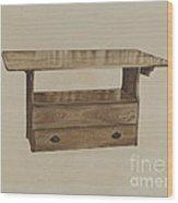 Seat Table Wood Print