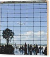 Seatac Airport K088 Wood Print