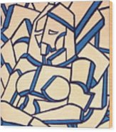 Seated Women Wood Print