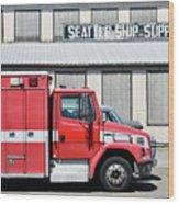 Seattle Ship Supply 1 Wood Print