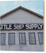 Seattle Ship Supply 2 Wood Print