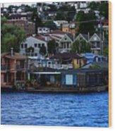 Seattle View Wood Print