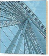 Seattle Wheel Wood Print