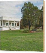 Sebastopol House Historic Site Wood Print