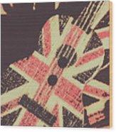 Second British Invasion Wood Print
