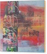 Secrate Strata Wood Print