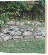 Secret Block Wall Wood Print