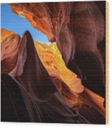 Secret Canyon Wood Print