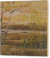 Secret Lake Wood Print