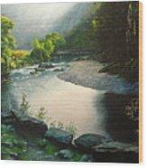 Secret Valley Wood Print