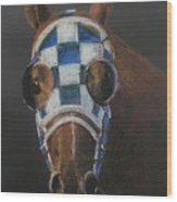 Secretariat - Jewel Of The 1973 Triple Crown Wood Print