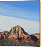 Sedona Afternoon Wood Print