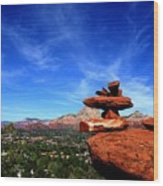 Sedona Airport Vortex Wood Print