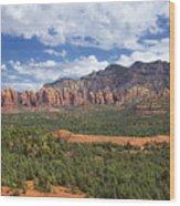 Sedona Arizona Landscape Wood Print