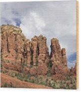 Sedona Arizona Red Rocks Wood Print