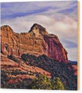 Sedona Arizona Vii Wood Print
