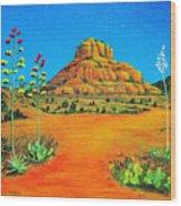 Sedona Bell Rock Wood Print