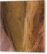 Sedona Canyon Abstract Wood Print