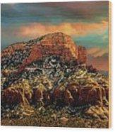 Sedona Dawn Wood Print