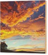 Sedona Wood Print