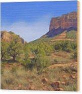 Sedona Landscape - 1 - Arizona Wood Print