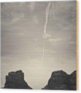 Sedona Landscape No. 4 Wood Print