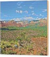 Sedona Landscape2 Wood Print