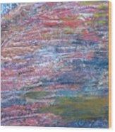 Sedona Mesa Strata  Wood Print