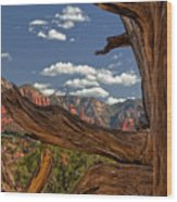 Sedona Mountains Arizona Wood Print
