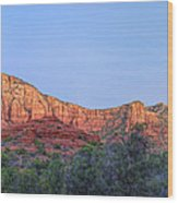 Sedona Panoramic - Highway 179 Wood Print