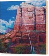 Sedona Red Rock Wood Print