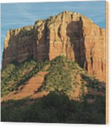 Sedona Red Rocks Wood Print