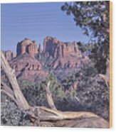 Sedona Red Rocks Framed Wood Print