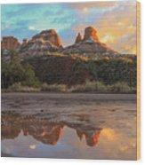 Sedona Reflections Wood Print