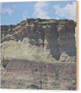 Sedona Rock Formation Wood Print