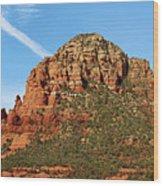 Sedona Rocks Hbn2 Wood Print