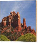Sedona Rocks Wood Print