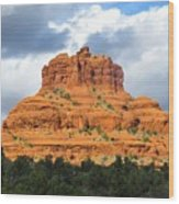 Sedona Spirit Rock Wood Print