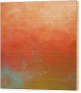 Sedona Summer Wood Print by KR Moehr