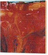 Sedona Sun Rise Wood Print