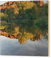 Sedona Sunset Wood Print