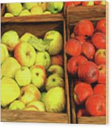 See Canyon Apples Wood Print