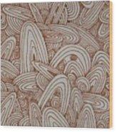 See Study Fifteen Wood Print