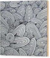 See Study Nine Wood Print