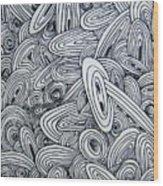 See Study Six Wood Print