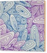 See Study Twenty Wood Print