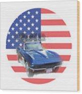 See The Usa Wood Print