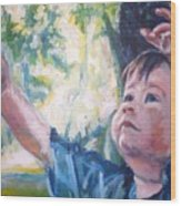 See Tree Ganma Wood Print