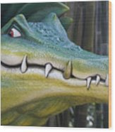 See You Later Alligator Wood Print