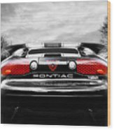 See You Later - Pontiac Trans Am Wood Print